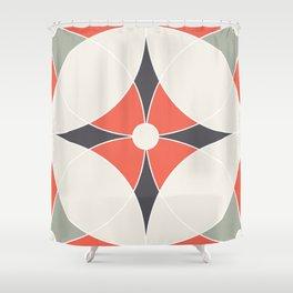 Geometric Pattern 4 Shower Curtain