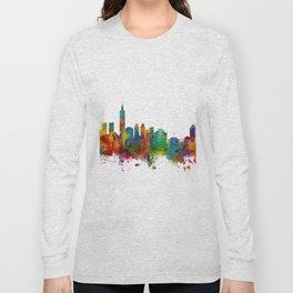 Taipei Taiwan Skyline Long Sleeve T-shirt