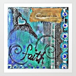 Faith in the Journey Art Print