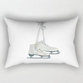 Figure skates Rectangular Pillow