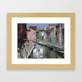 Burano Framed Art Print