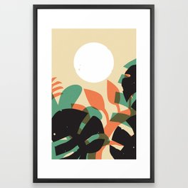 Jungle Sun #1 Framed Art Print