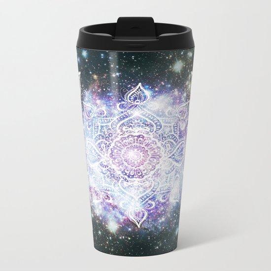 Celestial Mandala Metal Travel Mug