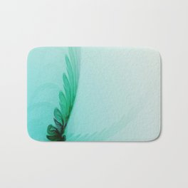 With Brave Wings She Flies Bath Mat