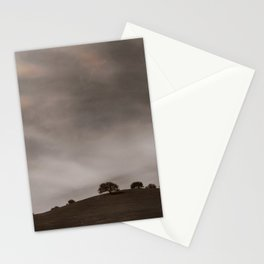 the sky is acting funny Stationery Cards