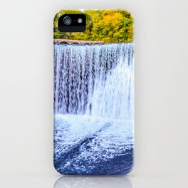 Monk's waterfall iPhone Case