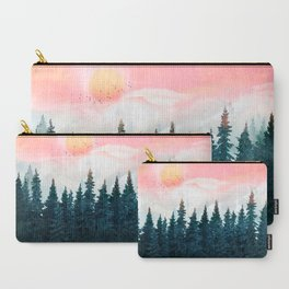 Forest Under the Sunset Carry-All Pouch
