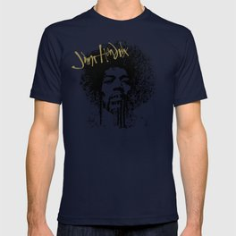 Jimi Hendrix / ink T-shirt