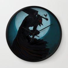 Berserk Armor Wall Clock