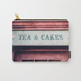 Tea & Cakes Carry-All Pouch