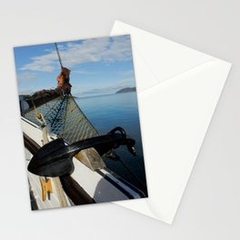 Sailing Through the Narrows Mull Scotland Stationery Cards