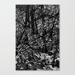 Swamp Crossing Canvas Print