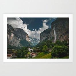 Lauterbrunnen Valley Art Print