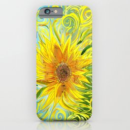 Sunflower Symphony iPhone Case