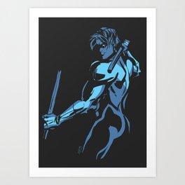 Gotham Noir 1 Art Print