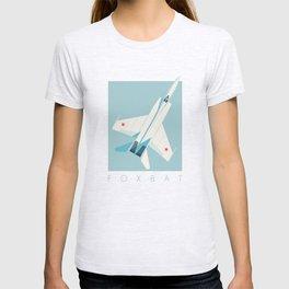 MiG-25 Foxbat Interceptor Jet Aircraft - Sky T-shirt