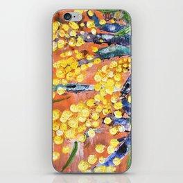 Rustic Wattle iPhone Skin
