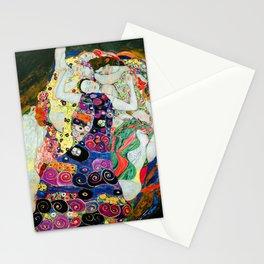 Art Nouveau Ladies - Gustav Klimt Stationery Cards