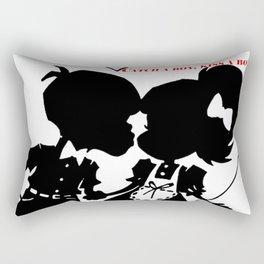 Urban Play Catch a boy! Rectangular Pillow