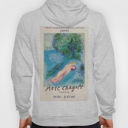 Marc Chagall - Exhibition poster Japon 1987 Hoody