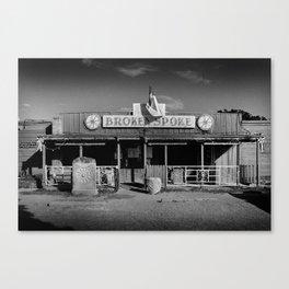 Broken Spoke Saloon Austin Texas Canvas Print