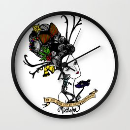 Christmas Queen Wall Clock