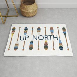 Up North with Painted Paddles Rug