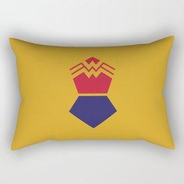 WonderWoman Alternative Minimalist Poster Rectangular Pillow