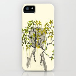 TREES NEVER LIED 01 iPhone Case