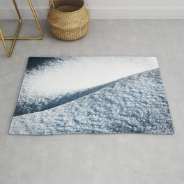 Abstract Snow Drift - 104/365 Nature Photography Rug