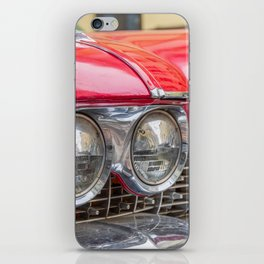 Vintage light car iPhone Skin
