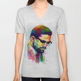 Malcolm X Unisex V-Neck