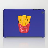 fries iPad Cases featuring Friend Fries by Wai Theng