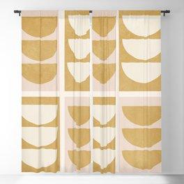 Minimal Geometric 55 Blackout Curtain