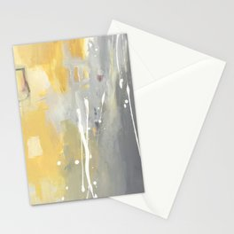 50 Shades of Grey and Yellow Stationery Cards