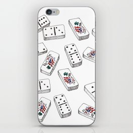 Dominos de Puerto Rico iPhone Skin