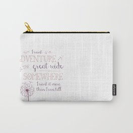 Great Wide Somewhere Carry-All Pouch