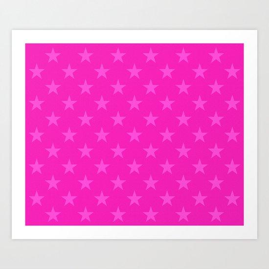 Pink stars pattern by steveball