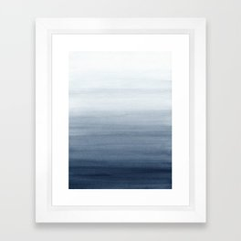 Ocean Watercolor Painting No.2 Framed Art Print
