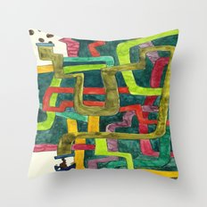 Where is my coffee? Throw Pillow