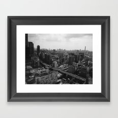 SHIBUYA Framed Art Print