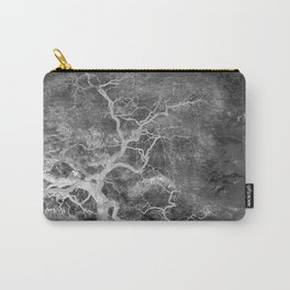Infrared Japanese Maple Tree on Hill Top Abstract Landscape Photograph Carry-All Pouch