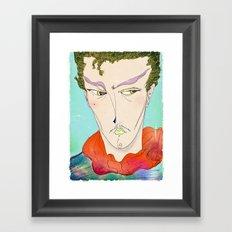 le serveur Framed Art Print