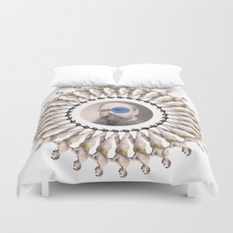 Lost time (2) Duvet Cover