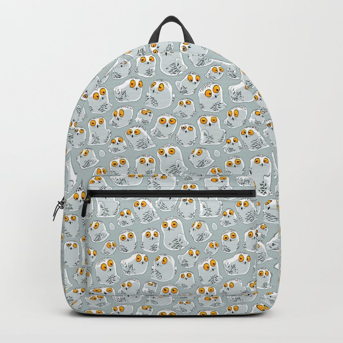 Snowy Owls. Backpack