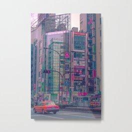 Tokyo Streets Metal Print