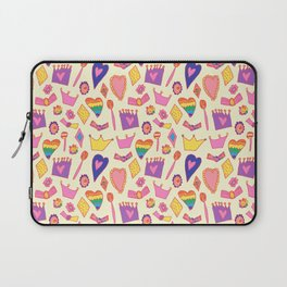 Princess pattern - collaboration with my daughter Laptop Sleeve
