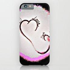Make Love Not War iPhone 6s Slim Case