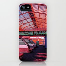 Welcome to Mars iPhone Case