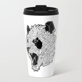 Geometric Panda Travel Mug
